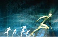 Tecnologia dos esportes Imagem de Stock