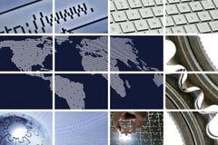 Tecnologia e comunicações Imagens de Stock Royalty Free