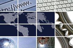 Tecnologia e comunicazioni Immagini Stock Libere da Diritti