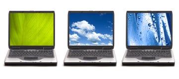Tecnologia e natureza Fotografia de Stock