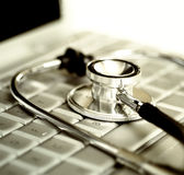 Tecnologia e saúde Imagem de Stock