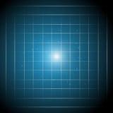 Tecnologia e vettore astratti della linea blu del fondo Immagine Stock Libera da Diritti