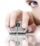 Tecnologia ed occhio fotografia stock libera da diritti