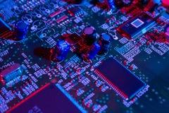 Tecnologia eletrônica Fotografia de Stock