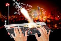 tecnologia espacial da engenharia Foto de Stock Royalty Free