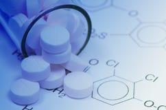Tecnologia farmaceutica Fotografie Stock