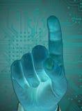 Tecnologia futura Immagini Stock