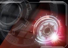 Tecnologia futura illustrazione di stock