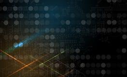 Tecnologia futura científica Para a apresentação do negócio Inseto, Imagem de Stock Royalty Free