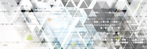Tecnologia futura científica Para a apresentação do negócio Inseto, Imagens de Stock Royalty Free