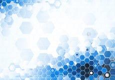 Tecnologia futura scientifica Per la presentazione di affari Aletta di filatoio, Immagine Stock