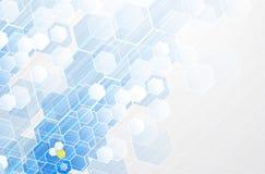 Tecnologia futura scientifica Per la presentazione di affari Aletta di filatoio, Immagini Stock Libere da Diritti
