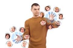 Tecnologia futurista Imagens de Stock Royalty Free