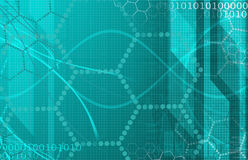 Tecnologia futurista da ciência médica como uma arte Imagem de Stock Royalty Free