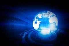 Tecnologia global do Internet Fotografia de Stock Royalty Free