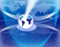 Tecnologia globale del mondo illustrazione di stock