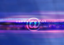 Tecnologia grafica di Web Immagini Stock Libere da Diritti