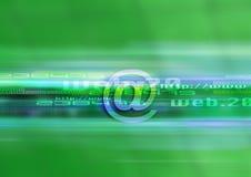 Tecnologia grafica di Web Fotografie Stock Libere da Diritti