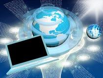Tecnologia inovativa da conexão do computador Imagens de Stock