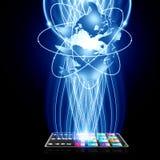 A tecnologia inteligente conecta Fotografia de Stock