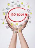 Tecnologia, Internet, affare e vendita Giovane wom di affari Fotografia Stock Libera da Diritti
