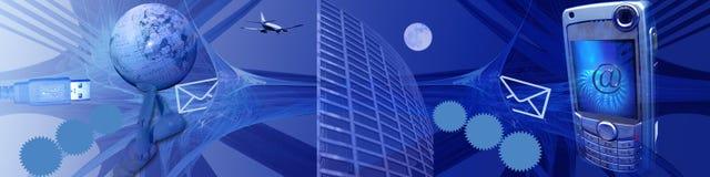 Tecnologia, Internet e velocidade ilustração stock