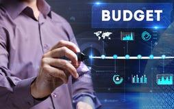 Tecnologia, Internet, negócio e mercado Homem de negócio novo Fotografia de Stock