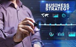 Tecnologia, Internet, negócio e mercado Homem de negócio novo Foto de Stock