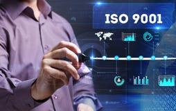 Tecnologia, Internet, negócio e mercado Homem de negócio novo Imagem de Stock Royalty Free