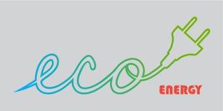 Tecnologia Iogo di Eco Immagini Stock Libere da Diritti