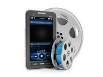 Tecnologia móvel Imagem de Stock