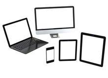 Tecnologia móvel do compter Fotos de Stock