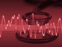 Tecnologia medica Fotografie Stock Libere da Diritti