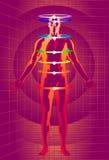 Tecnologia Meditative Fotografia de Stock