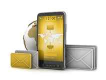 Tecnologia mobile illustrazione vettoriale