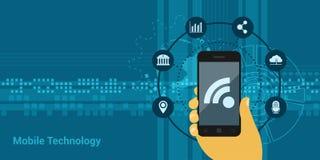 Tecnologia mobile Fotografia Stock
