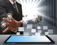 tecnologia moderna Immagini Stock Libere da Diritti