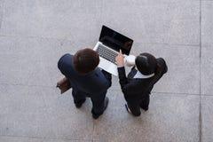 Tecnologia no conceito do negócio Fotos de Stock Royalty Free