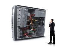 Tecnologia no negócio Foto de Stock