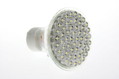 Tecnologia nova - bulbo do diodo emissor de luz Imagem de Stock Royalty Free