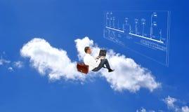 Tecnologia nova do Internet Imagem de Stock