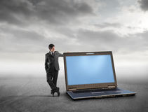 Tecnologia para o negócio Foto de Stock Royalty Free
