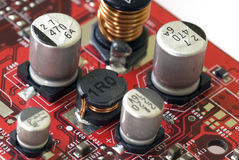 Tecnologia - placa gráfica Fotografia de Stock Royalty Free