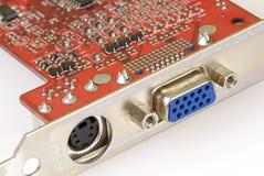 Tecnologia - placa gráfica Fotos de Stock