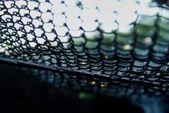 A tecnologia prendida Textured o sumário Art Background do painel do close-up do detalhe imagem de stock royalty free
