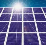 Tecnologia solare Immagine Stock