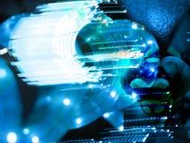Tecnologia straniera Immagine Stock