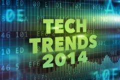 A tecnologia tende o conceito 2014 Fotografia de Stock Royalty Free