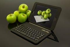 Tecnologia uma da imagem das empresas as mais bem sucedidas do mercado moderno: Apple imagens de stock
