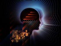 Tecnologia umana evolventesi Immagini Stock
